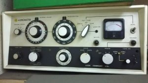 audiometer old