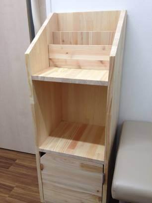 本棚を作りました!