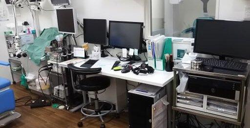 耳鼻咽喉科_診察室モニター